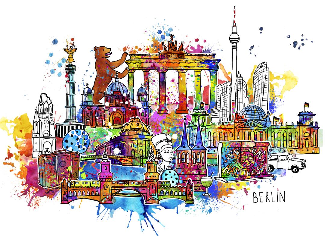 Stadtansicht_Berlin_Popart_Birgit_Osten