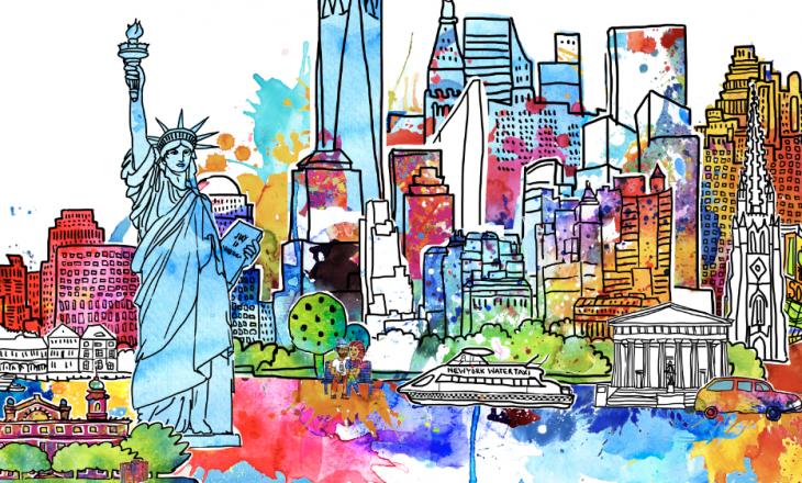 New York Skyline – der Countdown läuft