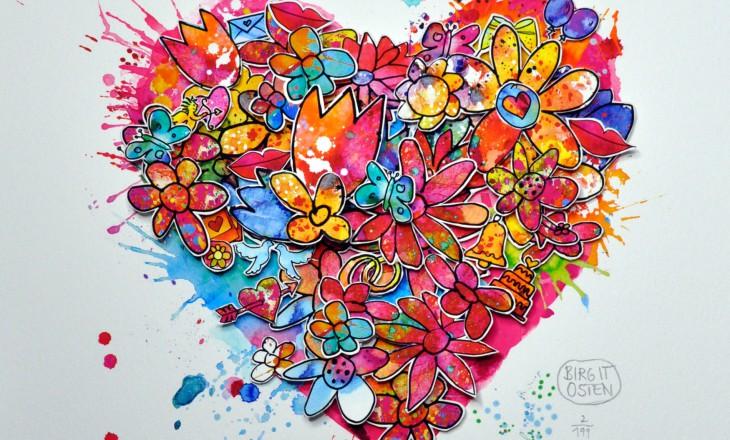 Forever Love – 3D-Herz als individualisiertes Geschenk