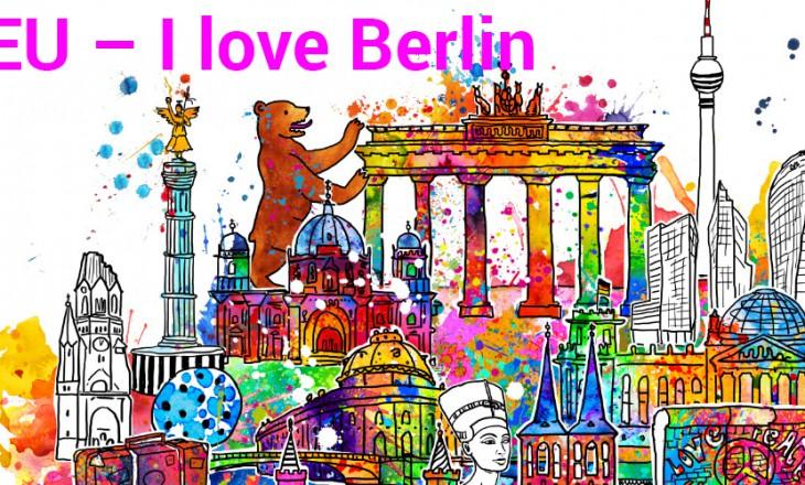 Neue Stadtansicht – I love Berlin