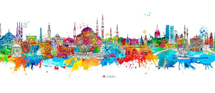 I love Istanbul – Künstlerexemplar für TIAD