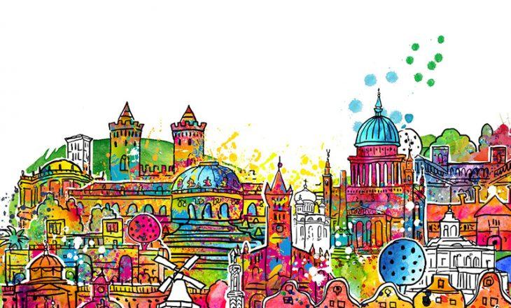 I love Potsdam – Birgit Ostens künstlerisches Motiv für die Stadt an der Havel