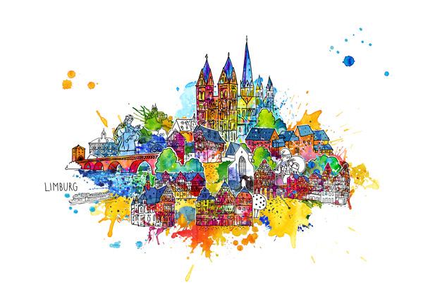 Das Limburg-Bild – liebenswerte, bunte Domstadt